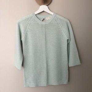 NWOT Mint green sweater